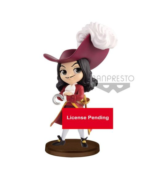 Q Posket Disney Captain Hook - Petit Mini Figure