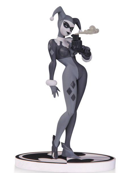 Batman Black and White Harley Quinn