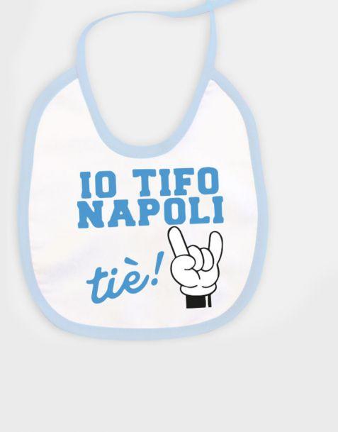 Bavaglino Napoli per bimbo