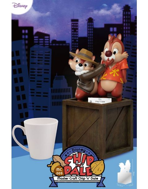 Beast Kingdom Toys Statua Master Craft Disney - Chip 'n Dale: Rescue Rangers
