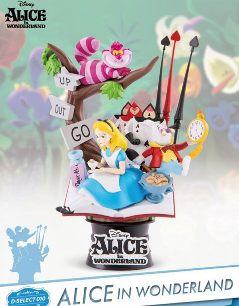 Beast Kingdom Toys Disney Diorama Alice in Wonderland