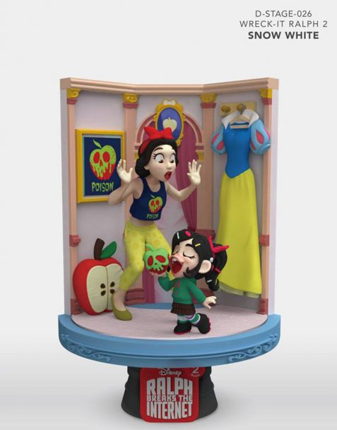 Beast Kingdom Toys Disney Diorama Ralph Breaks the Internet D-Stage - Snow White & Vanellope