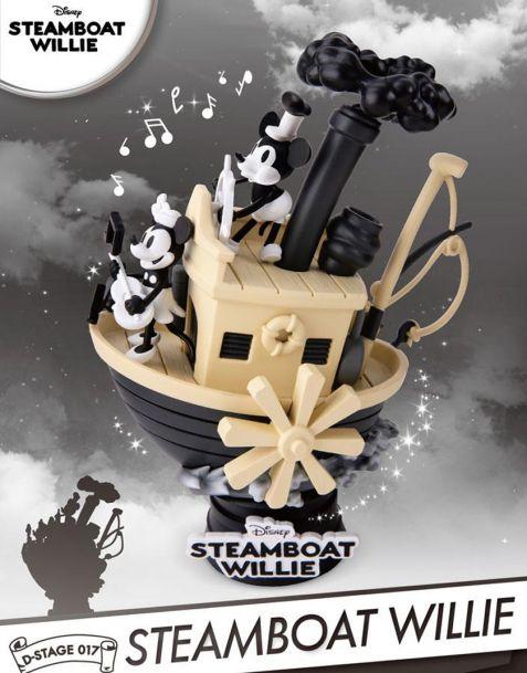 Beast Kingdom Toys Disney Diorama Steamboat Willie Mickey & Minnie