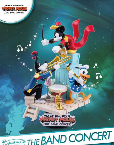 Beast Kingdom Toys Disney Mickey Mouse Diorama The Band Concert