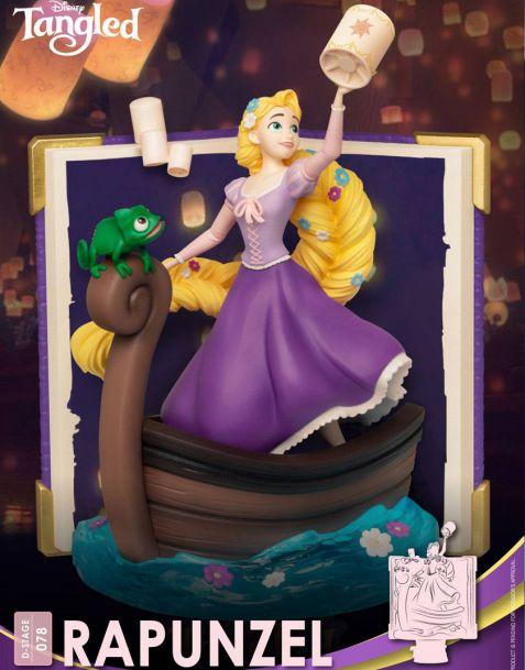 Beast Kingdom Toys Disney Story Book - Rapunzel
