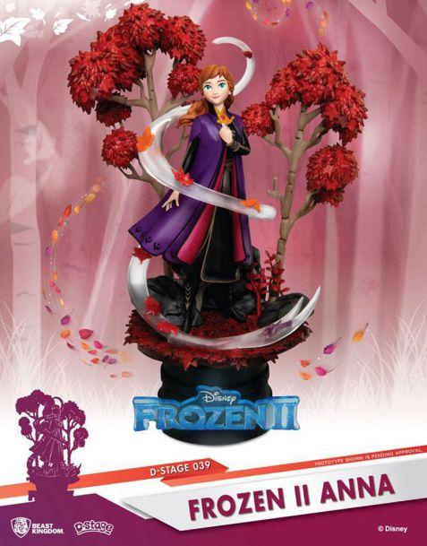 Beast Kingdom Toys Disney Frozen II Diorama - Anna