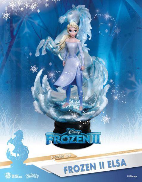 Beast Kingdom Toys Disney Frozen II Diorama - Elsa