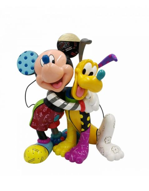 Disney Britto Collection - Mickey and Pluto