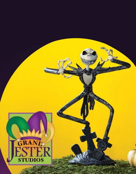 Disney Grand Jester Studios Jack Skellington Vinyl Figurine