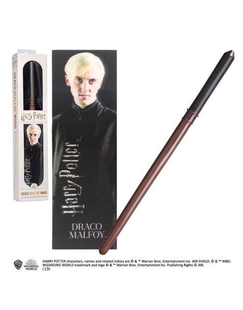 Draco Malfoy bacchetta e segnalibro lenticolare