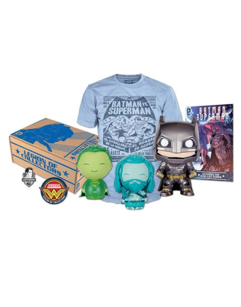Funko DC Legion of Collectors Box Batman v Superman