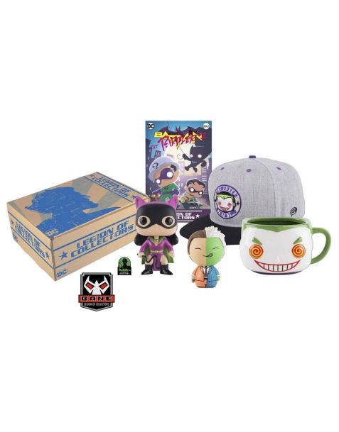 Funko DC Legion of Collectors Box Batman Villains
