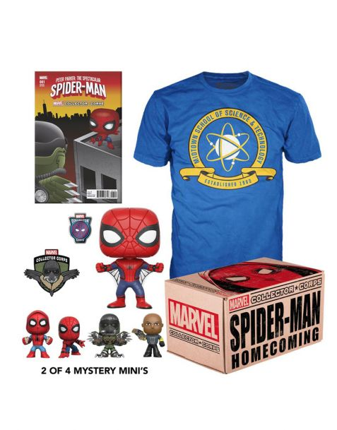 Funko Marvel Collector Corps Box Spider-Man Homecoming