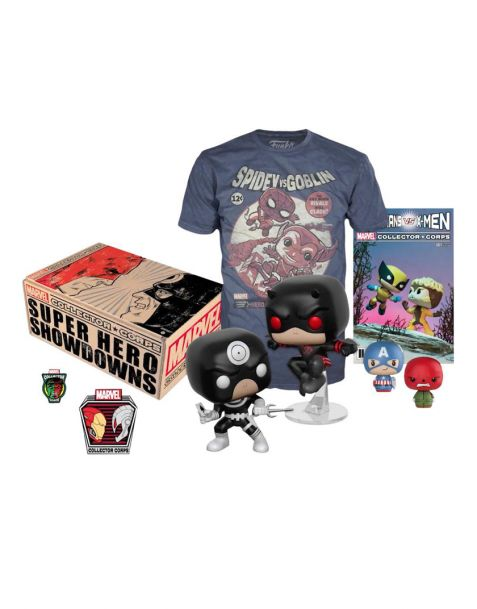 Funko Marvel Collector Corps Box Superhero Showdown