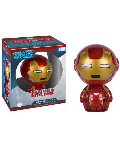 Funko Dorbz Civil War Captain America Iron Man 112