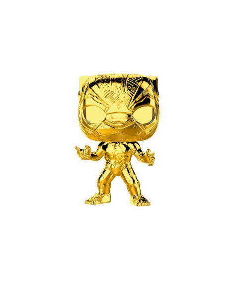Funko Pop! Marvel Studios 10 - Black Panther (Chrome)
