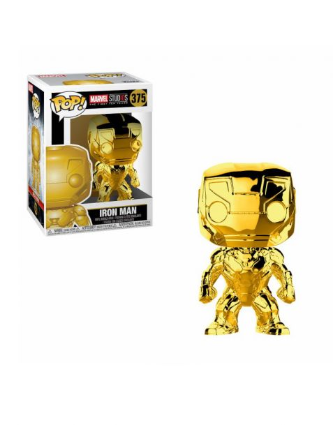 Funko Pop! Marvel Studios 10 - Iron Man 375 (Chrome)
