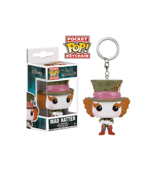Funko Pocket Pop! Keychain Alice in Wonderland - Mad Hatter