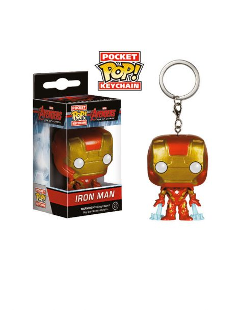 "Funko Pocket Pop! Keychain Iron Man ""Avengers Age Of Ultron"""
