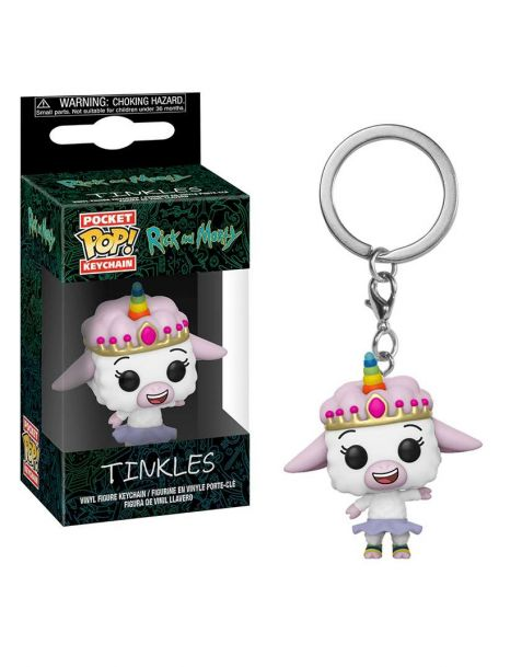 Funko Pocket Pop! Keychain Rick and Morty - Tinkles