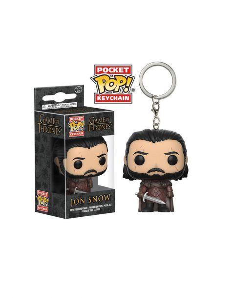 Funko Pocket Pop! Keychain Jon Snow (King in the North) - Game of Thrones