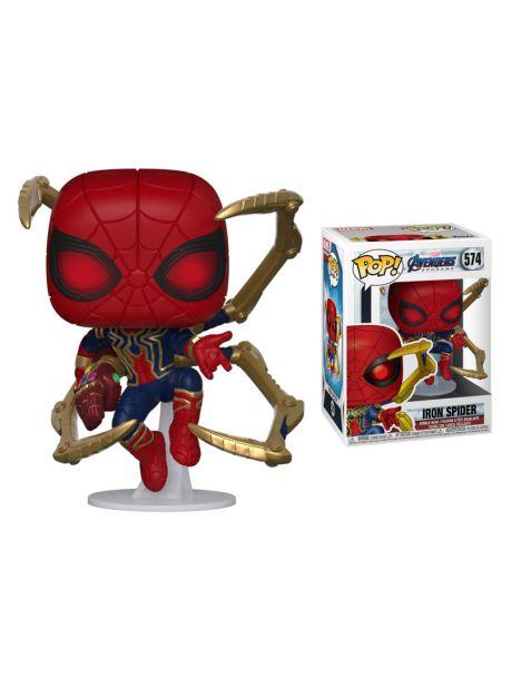 Funko Pop! Marvel Avengers Endgame - Iron Spider w/Nano Gauntlet 574