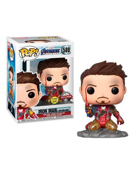 Funko Pop! Marvel Avengers Endgame - Iron Man I Am Iron Man 580