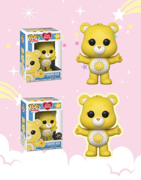 Funko Pop! Care Bears - Funshine Bear 356 (Regular + Chase)