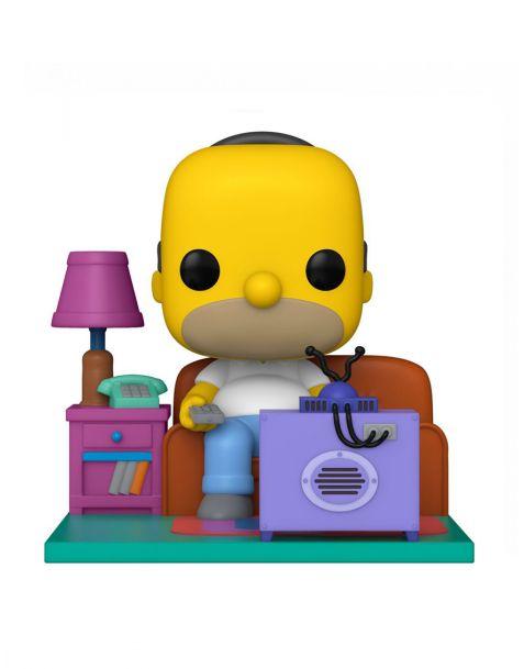 Funko Pop! Deluxe The Simpsons - Homer Watching TV