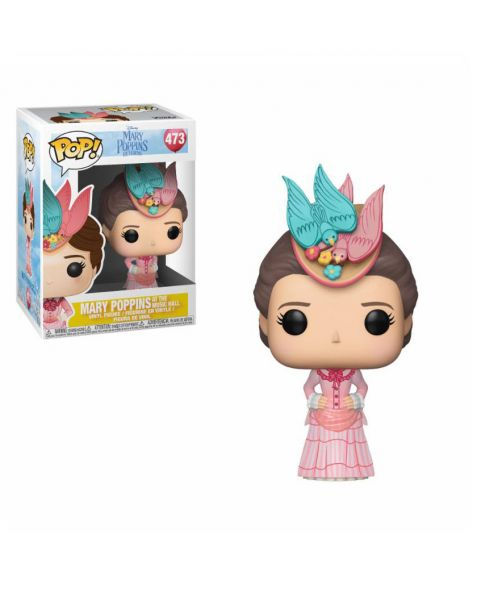 Funko Pop! Disney Mary Poppins Returns - Mary Pink Dress 473