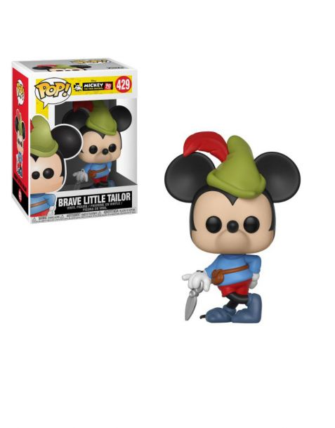 Funko Pop! Disney Mickey Mouse 90th Anniversary - Brave Little Tailor Mickey 429