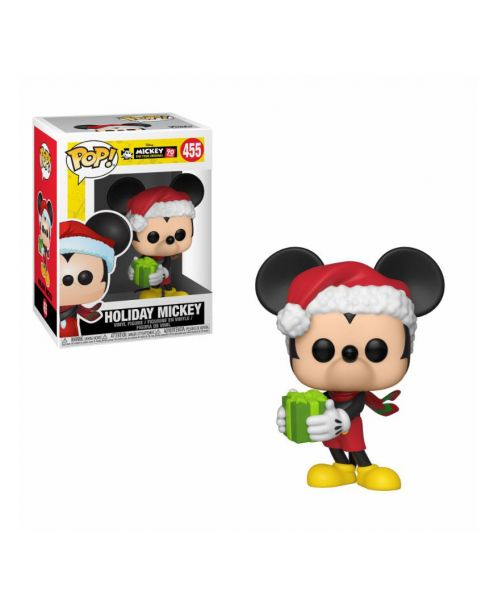 Funko Pop! Disney Mickey Mouse 90th Anniversary - Holiday Mickey 455
