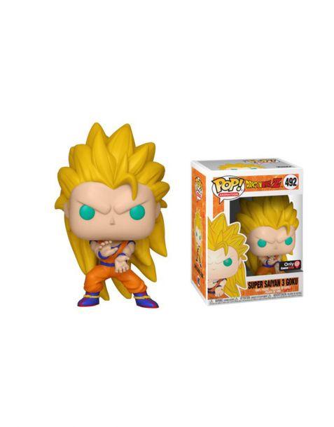 Funko Pop! Dragon Ball Z - Super Saiyan 3 Goku 492