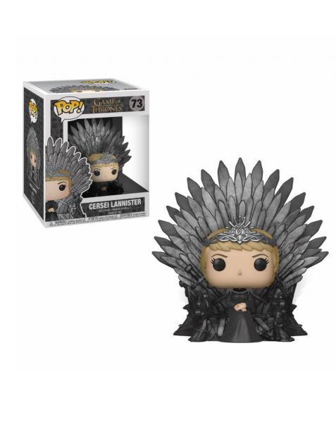 Funko Pop! Deluxe Game of Thrones - Cersei Lannister Sitting on Iron Throne 73
