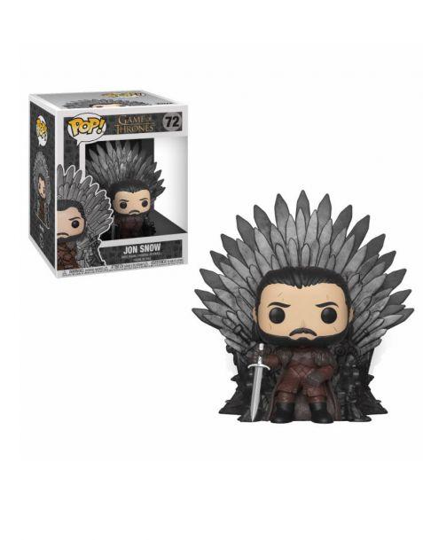 Funko Pop! Deluxe Game of Thrones - Jon Snow Sitting on Iron Throne 72