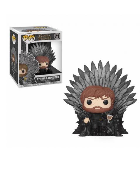 Funko Pop! Deluxe Game of Thrones - Tyrion Sitting on Iron Throne 71