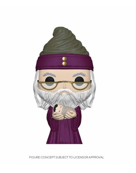 Funko Pop! Harry Potter - Dumbledore w/Baby Harry 115
