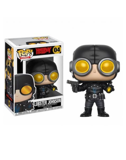 Funko Pop! Hellboy - Lobster Johnson 04