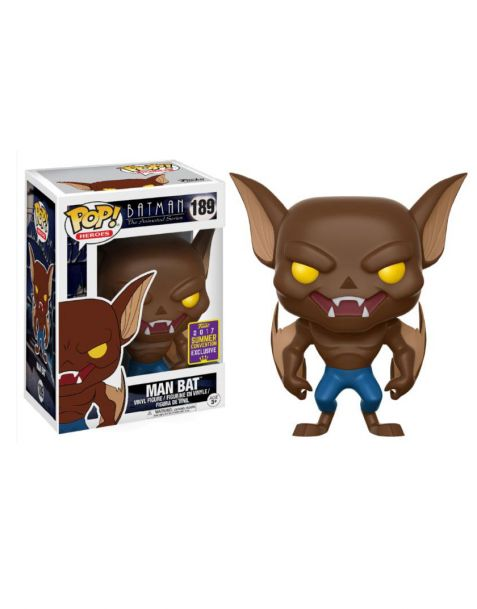 Funko Pop! Batman The Animated Series - Man Bat 189 SDCC 2017