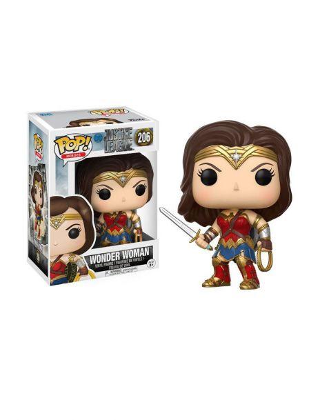 Funko Pop! Justice League - Wonder Woman 206