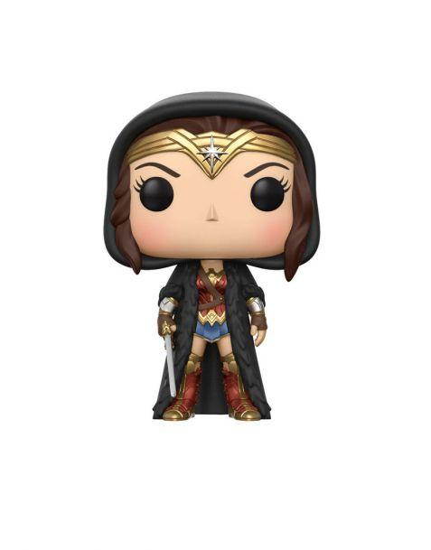 Funko Pop! Wonder Woman (mantello nero)