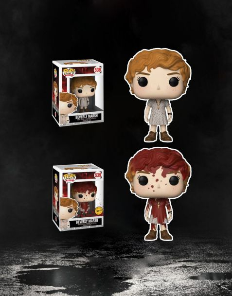 Funko Pop! It Stephen King's - Beverly Marsh 539 (Regular + Chase)