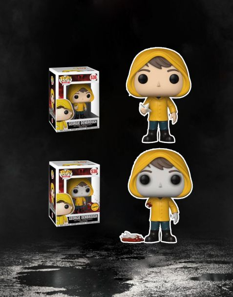 Funko Pop! It Stephen King's - Georgie Denbrough 536 (Regular + Chase)