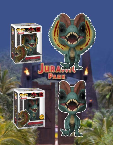 Funko Pop! Jurassic Park - Dilophosaurus 550 (Regular + Chase)