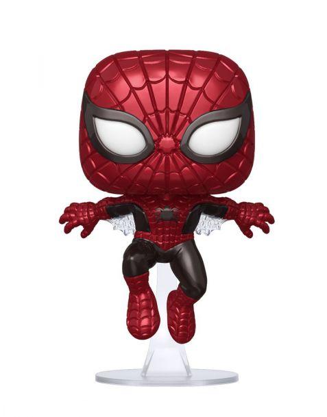 Funko Pop! Marvel 80th - Spider-Man 593 Metallic