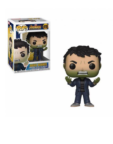Funko Pop! Marvel Avengers Infinity War - Bruce Banner 419