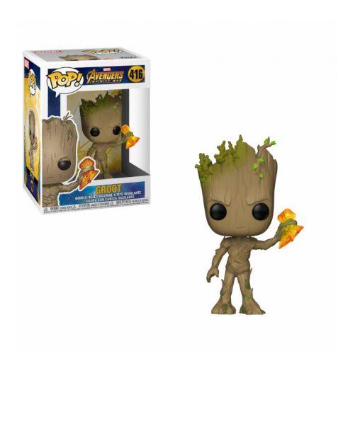 Funko Pop! Marvel Avengers Infinity War - Groot with Stormbreaker 416