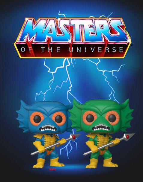 Funko Pop! Masters of the Universe - Merman (Regular + Chase)