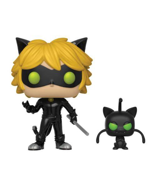 Funko Pop! Miraculous: Tales of Ladybug & Cat Noir - Cat Noir & Plagg