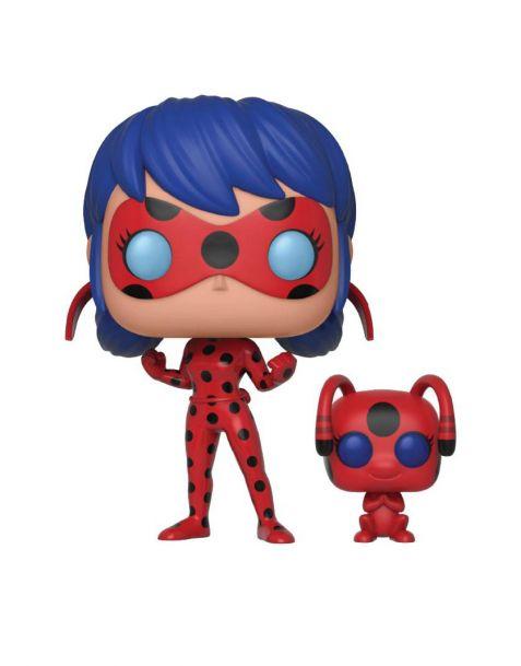 Funko Pop! Miraculous: Tales of Ladybug & Cat Noir - Lady Bug & Tikki